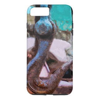 Large Vintage Towing Hook Abstract Impressionist iPhone 7 Plus Case
