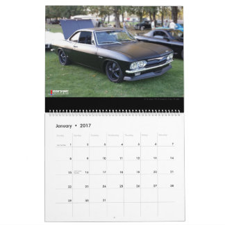 Large Wall Calendar Corvair Forum Winners