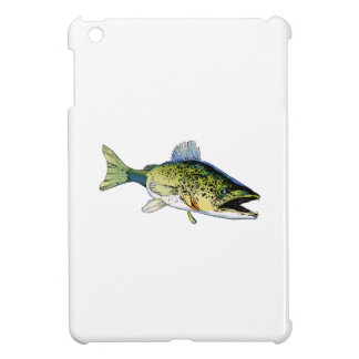 LARGE WALLEYE FISH COVER FOR THE iPad MINI
