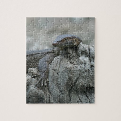 Large Water Monitor Lizard Jigsaw Puzzles
