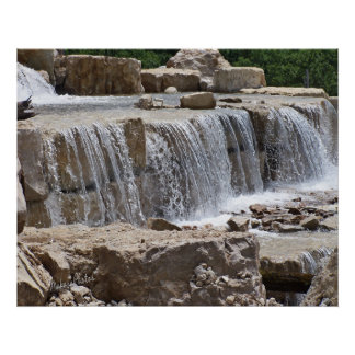 Large Waterfall Print-customize size Poster