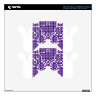 Large Weave - Amethyst Skin For PS3 Controller