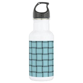 Large Weave - Blizzard Blue Water Bottle