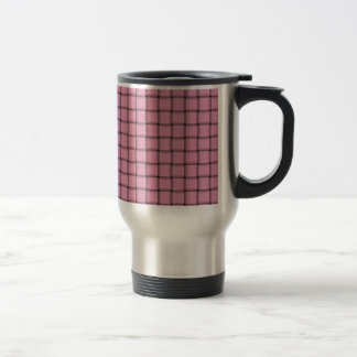 Large Weave - Carnation Pink Coffee Mugs
