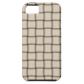 Large Weave - Champaigne iPhone 5 Case