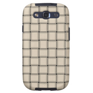 Large Weave - Champaigne Galaxy SIII Covers