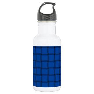 Large Weave - Cobalt Water Bottle