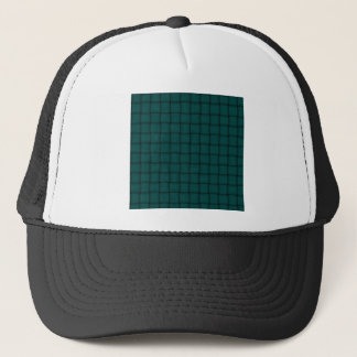 Large Weave - Deep Jungle Green Trucker Hat