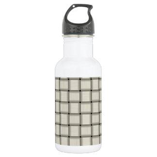 Large Weave - Eggshell Stainless Steel Water Bottle
