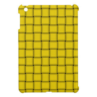 Large Weave - Golden Yellow Case For The iPad Mini