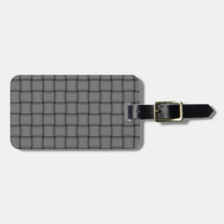 Large Weave - Gray Tags For Luggage