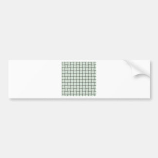 Large Weave - Honeydew Car Bumper Sticker