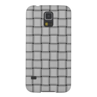 Large Weave - Light Gray Galaxy S5 Cover