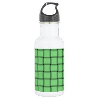 Large Weave - Light Green Water Bottle