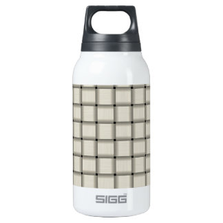 Large Weave - Light Yellow Insulated Water Bottle