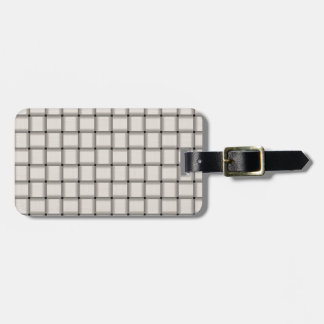 Large Weave - Linen Travel Bag Tags