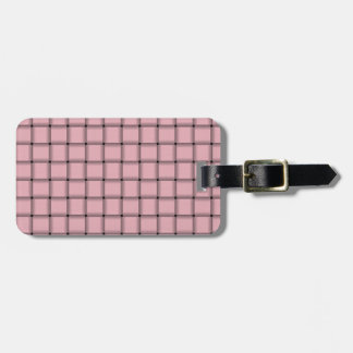 Large Weave - Pink Tags For Bags