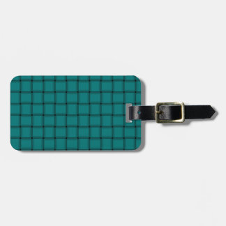 Large Weave - Teal Tags For Bags