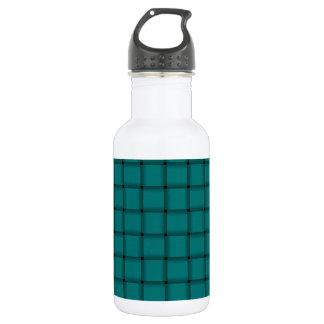 Large Weave - Teal Water Bottle