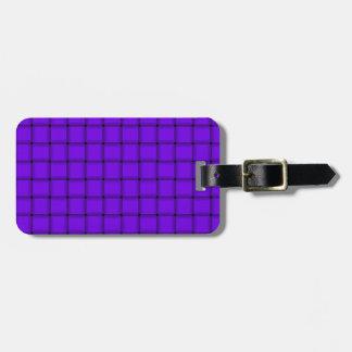 Large Weave - Violet Travel Bag Tag