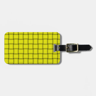 Large Weave - Yellow Bag Tag