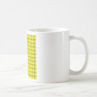 Large Weave - Yellow Mugs