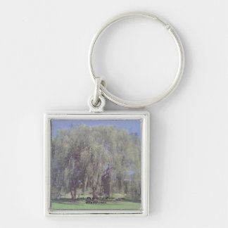 Large Weeping Willow Tree Keychain