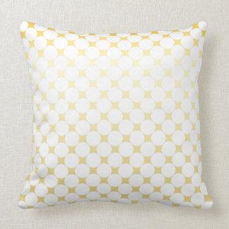 White And Gold Large PillowsDecorativeThrow PillowsZazzle