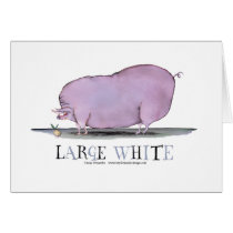 large white pig, tony fernandes card