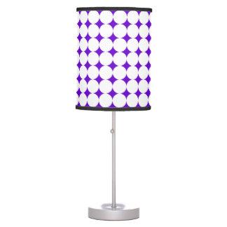 Large White Polka Dot Lamp
