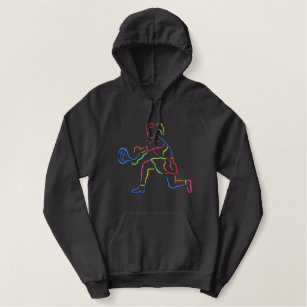 6f5022597b Large Women s Tennis Embroidered Hoodie