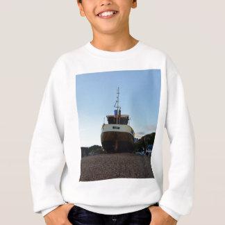 Large Wooden Fishing Boat Sweatshirt