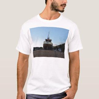 Large Wooden Fishing Boat T-Shirt
