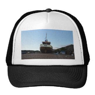 Large Wooden Fishing Boat Trucker Hat