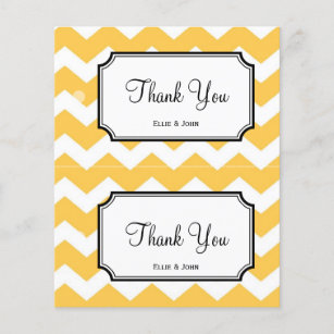 Do it yourself flyers programs zazzle large yellow chevron diy wedding gift bag hang tag solutioingenieria Choice Image