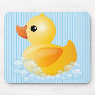 Large Yellow Duck Mouse Pad