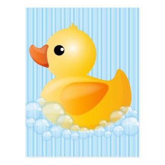 Large Yellow Duck Postcard