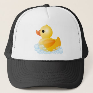 Large Yellow Duck Trucker Hat