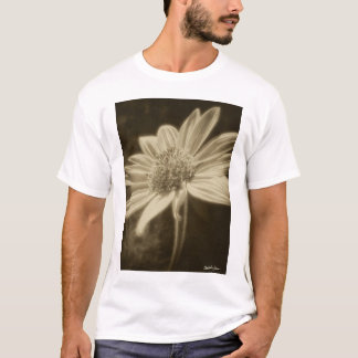 Large Yellow Wildflowers 2 Antiqued T-Shirt