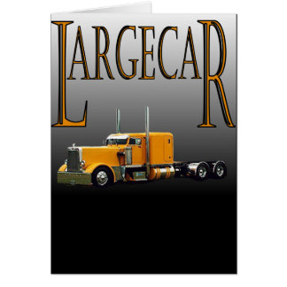 Largecar Blk Card