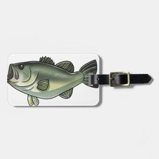 Largemouth Bass Bag Tag