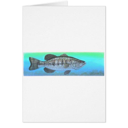 Largemouth Bass Card