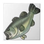 Largemouth Bass Ceramic Tile