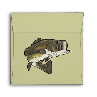 Largemouth Bass Envelope