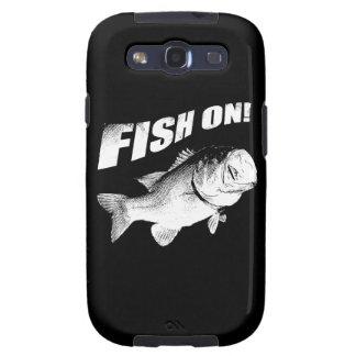 Largemouth bass fish on samsung galaxy s3 case
