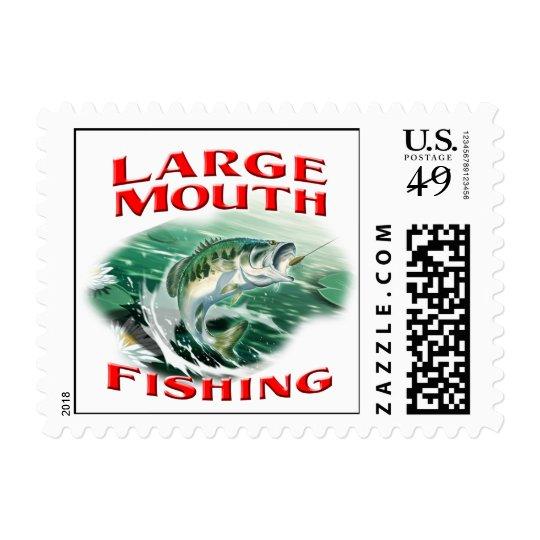 Largemouth Bass Fishing STamps