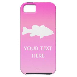 Largemouth Bass Fishing template iPhone SE/5/5s Case
