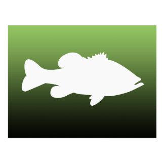 Largemouth Bass Template largemouth bass postcards zazzle