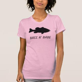 Largemouth Bass Fishing template T-Shirt