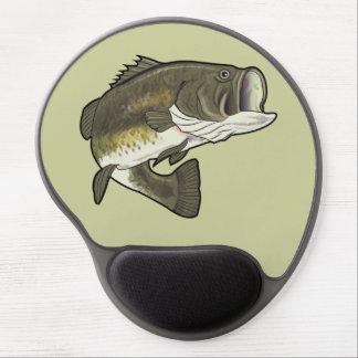 Largemouth Bass Gel Mouse Pad